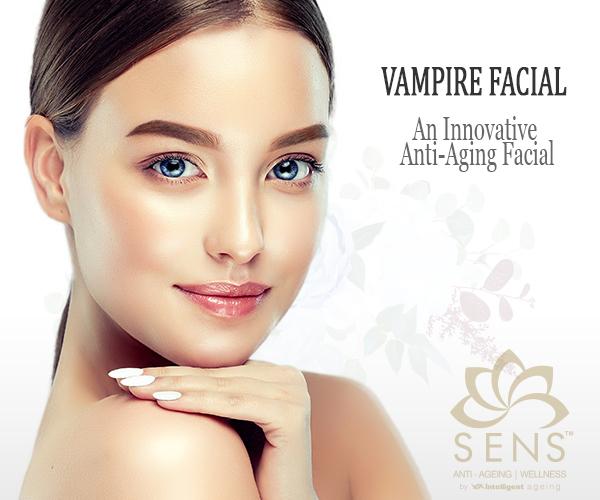 vampire facial at sensclinic